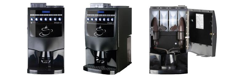 Venta de m quinas de caf vending vitale caf do brasil for Maquinas expendedoras de cafe para oficinas